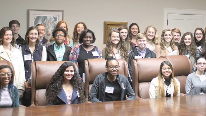 Shown are members of Class 24 of Junior Leadership Anderson from area high schools.