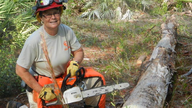 Tracey Wright is park ranger/naturalist for Turkey Creek Sanctuary in Palm Bay.