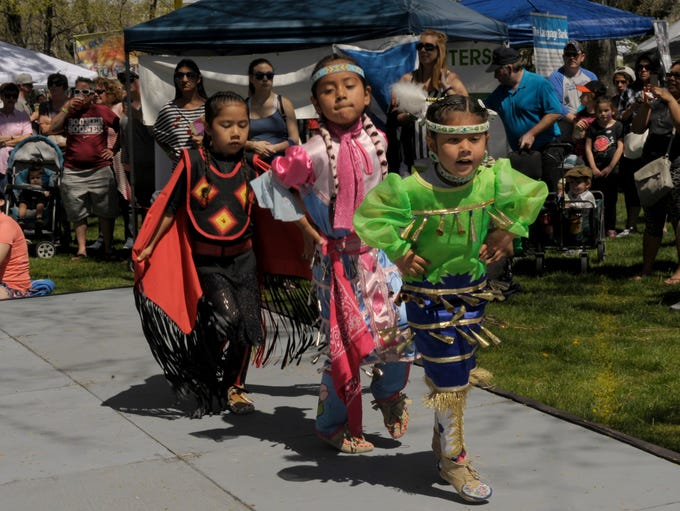 Scenes from Earth Day celebration in Idlewild Park