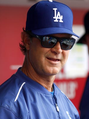 Don Mattingly had a 446-363 record in five seasons as the Dodgers manager.