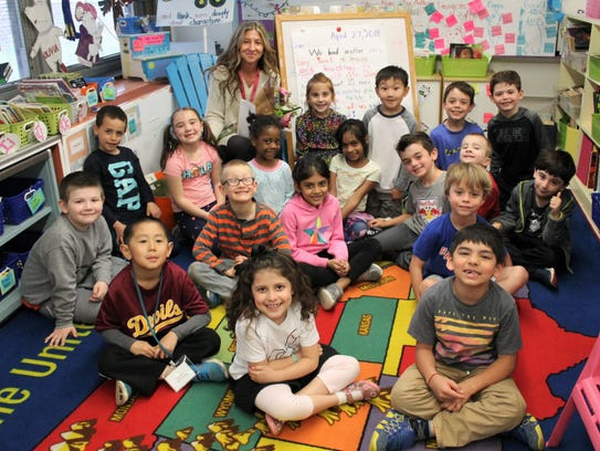 Mary Montes, a first-grade teacher at Tamaques Elementary