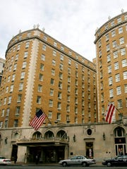 The Mayflower Hotel in Washington is seen in this 2008 file photo.