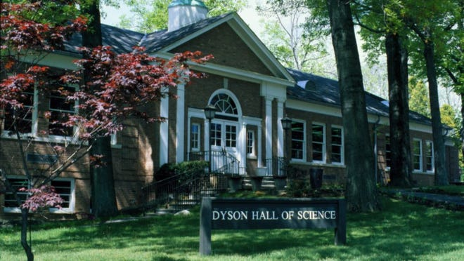 Dyson Hall on the Pleasantville campus of Pace University.