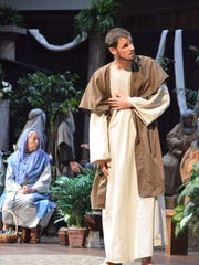 Members of Faith Baptist Church present the story of the life, death and resurrection of Jesus to the community.