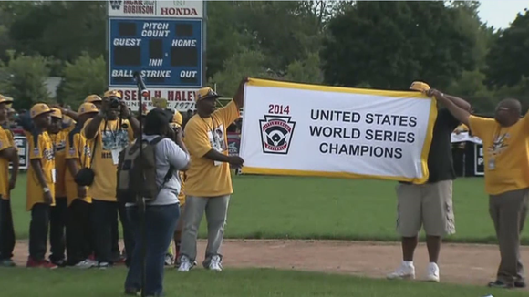 File photo of Jackie Robinson West Little League Team.