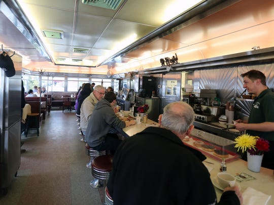 The interior of the Millbrook Diner in Millbrook, March 25, 2017.