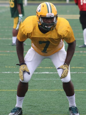 Harrison senior Ovie Oghoufo committed to Notre Dame prior to his junior year and is working hard to develop his game.