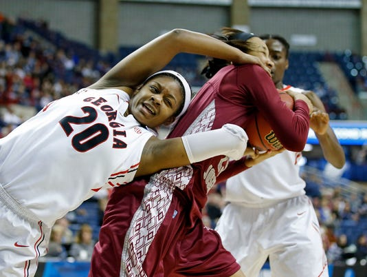 NCAA Womens Basketball: NCAA Tournament-1st Round-Georgia vs St Josephs