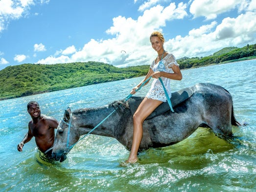 Caribbean Horseback Rides Take You Off The Beach And Into The Water