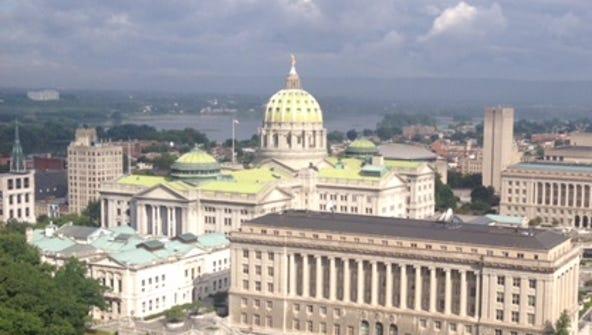The Pennsylvania Legislature was sitting on a more