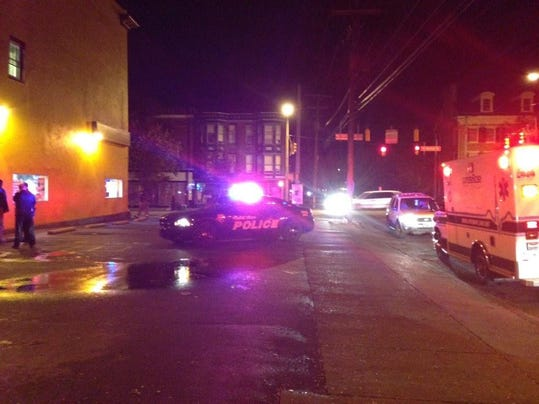Police were on the scene of an assault at Li's Restaurant in York on Thursday, October 30, 2014. .