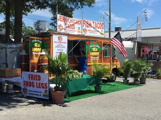 Sea Hogg Food Truck Menu