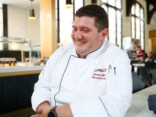 Thomas Gilbert, Executive Chef of Resident Dining at