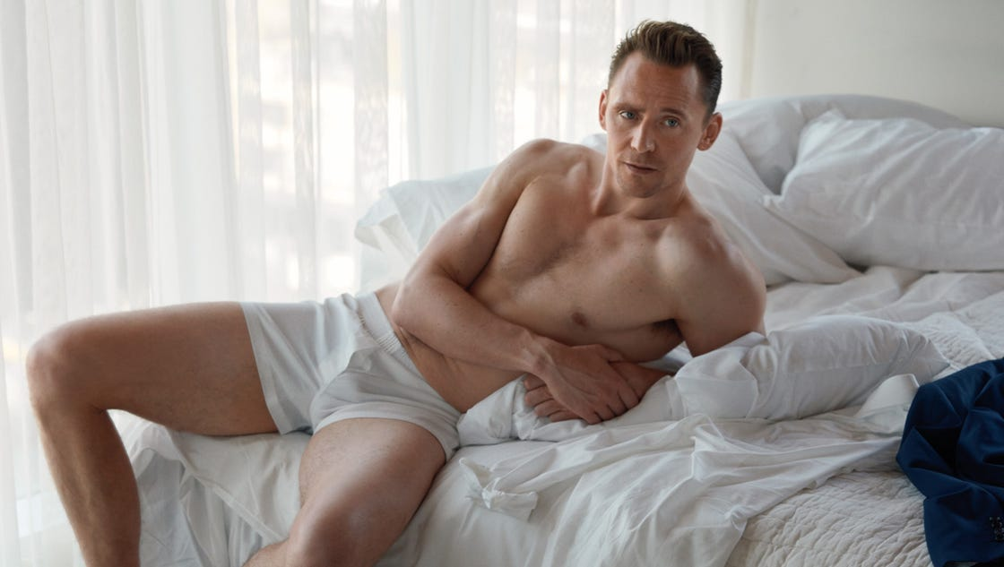 Tom Hiddleston bares his boxers for W