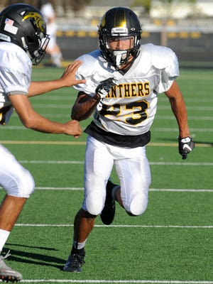 Andrew Noble and the Newbury Park High football team have three tough games coming up that will help determine the Panthers place in the upcoming CIF-Southern Section Division 3 playoffs. They host unbeaten Calabasas High Friday at 7 p.m.