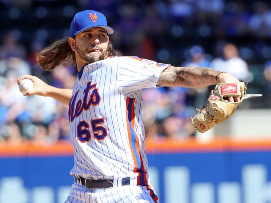 Robert Gsellman went 4-2 in seven starts for the Mets.