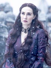 Carice van Houten plays Red Priestess Melisandre in