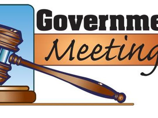 Government meetings