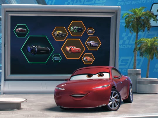 """In """"Cars 3,"""" Natalie Certain is a highly respected"""