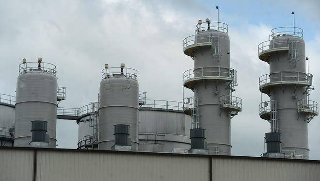 The POET-DSM Advanced Biofuels'  Project LIBERTY cellulosic ethanol plant in Emmetsburg, Iowa on Sept. 3, 2014.