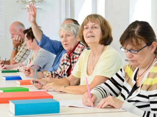 Learning in Retirement classes are an option for senior citizens looking to expand their horizons.