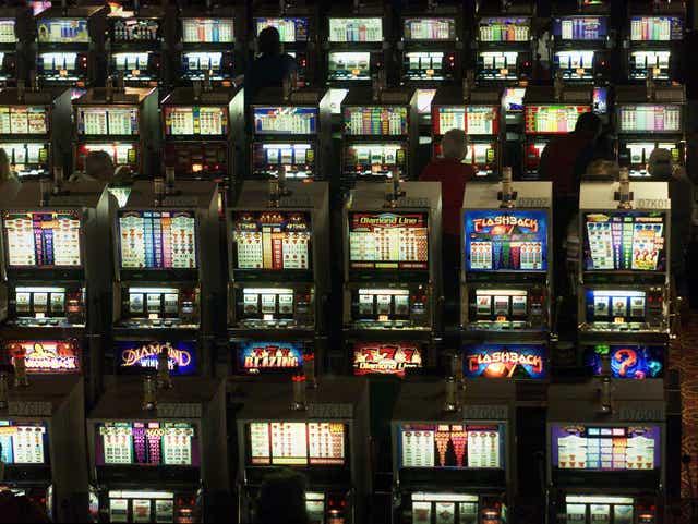 Trump Plaza Selling Slot Machines