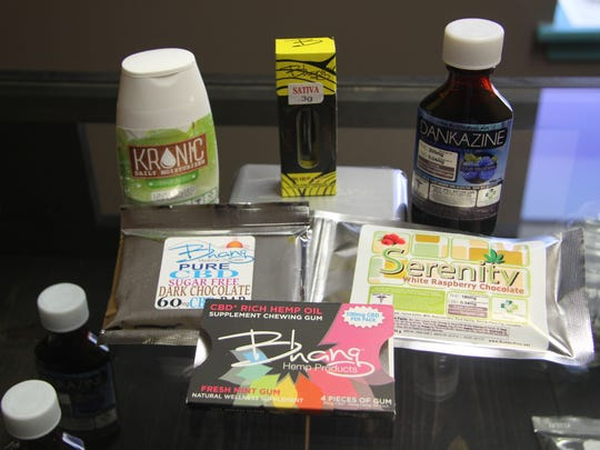 Items offered at the Healthy Education Society dispensary