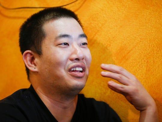 Minsoo Jeon, owner of Soo's Korean Restaurant, talks
