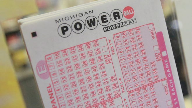 Tickets for Michigan Powerball Powerplay.