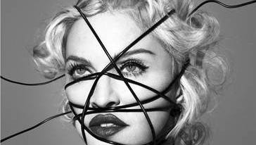 """Album art cover for """"Rebel Heart"""" by Madonna."""