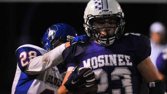 Merrill vs. Mosinee football.