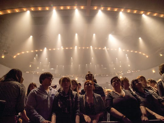 Grizzly Bear performs at the Englert on Thursday during