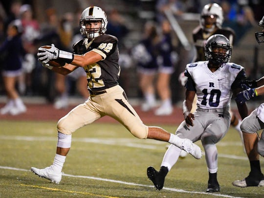Reeder Pennell, who missed Central's regular-season loss to Reitz with a knee injury, caught two scoring passes and made an interception in the rematch as Central posted a 34-6 win on Friday in the first round of Class 4A Sectional 24 at Central Stadium.