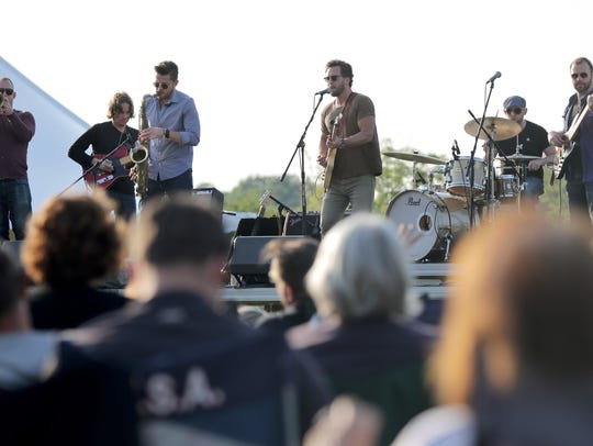 Kyle Megna and the Monsoons will be back in Hydro Park in Kaukauna on Aug. 7. Their performance will close out the Live! from Hydro Park series, which begins June 5.