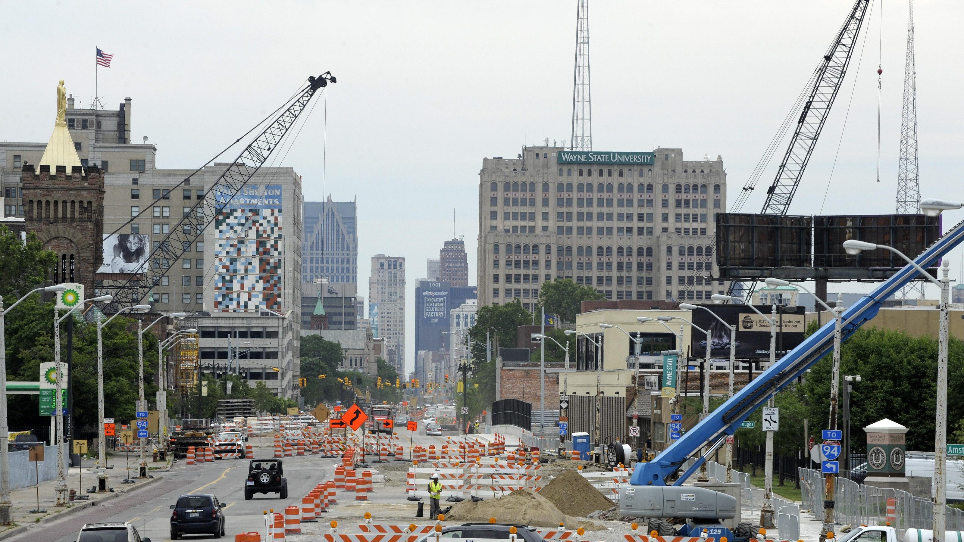 M 1 Rail Helps Get Woodward Developments Rolling In Detroit