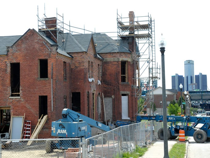 The Ransoom Gillis mansion is being completely restored,