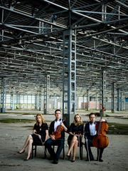 Royal String Quartet come from Poland to the Center for the Performing Arts Bonita Springs on Thursday.