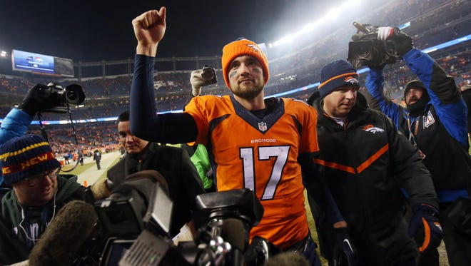 QB Brock Osweiler and the Broncos are going to the playoffs.