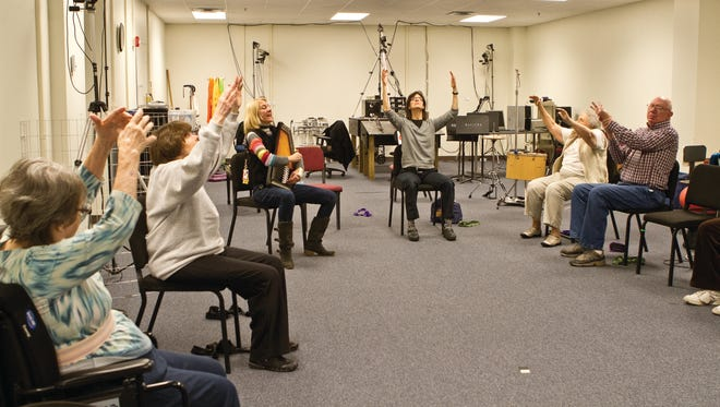 Rehab patients get their groove back.