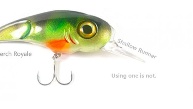 A photo of a fishing lure investigators say was never actually produced but was used by a Cecil man to attract investors whose money he's now charged with stealing.