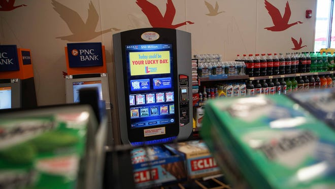 Wawa opened its' 800th store on Rocky Run Parkway off Rt. 202 that offers patrons the opportunity to play the Delaware Lotto at a self-serve machine located inside the store.