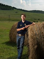 Wyatt Haley, the Future Farmers of America president