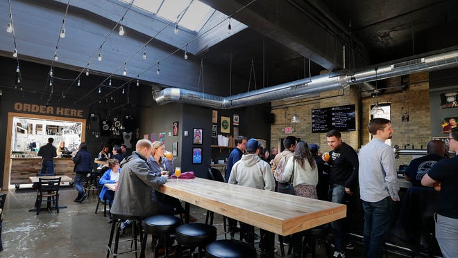 With skylights and an open concept tap room, Eagle Park Brewing recently opened its doors at a new and larger location at 823 E. Hamilton St.