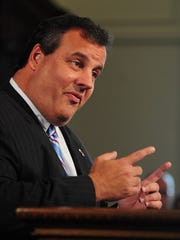 Gov. Chris Christie held a press conference at the State House to announce the ARC Tunnel project is dead in October 2010.