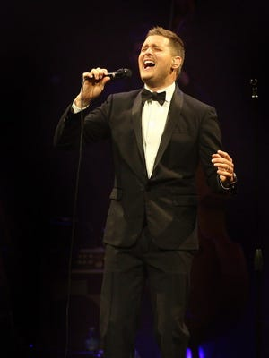 "Michael Bublé ended his BMO Harris Bradley Center concert on July 27, 2014 with a moving performance of ""I Wish You Love."" It was his grandmother's favorite song; she passed away earlier that day."
