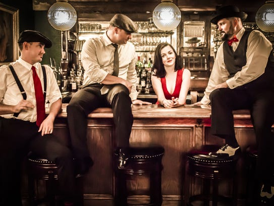 Margot and the Kidders in a recent publicity photo.