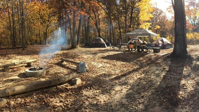 Troop 111 camped in Clare in October before all their camping equipment was stolen.