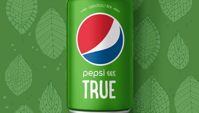PepsiCO adds a new product, Pepsi True, to its beverage lineup. Sweetened with real sugar and stevia leaf extract, Pepsi True has 30% less sugar than regular Pepsi and contains no high-fructose corn syrup or artificial sweeteners.
