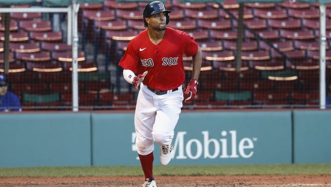 Boston's Xander Bogaerts has tried to keep a positive outlook during a trying 2020 campaign for the Red Sox.