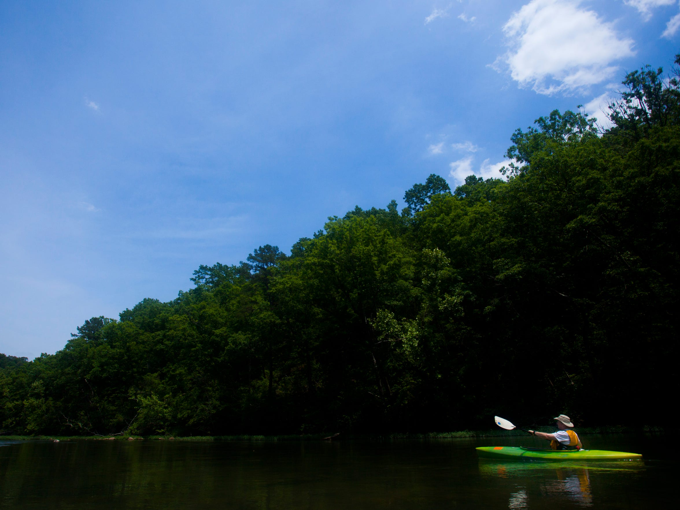 The Eleven Point River is just 2.5 hours east of Springfield